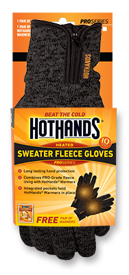 HotHands Sweater Fleece Gloves